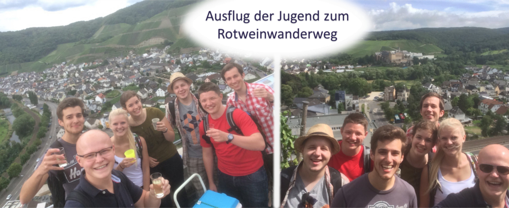 Rotweinwanderweg 2015