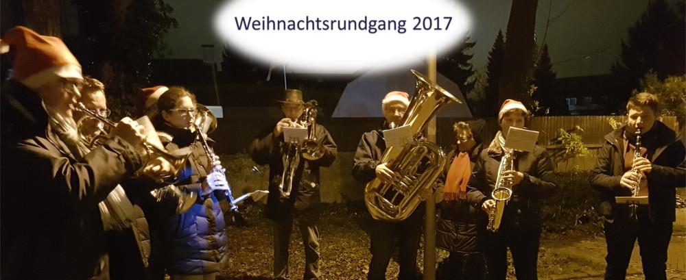 Weihnachtsrundgang 2017
